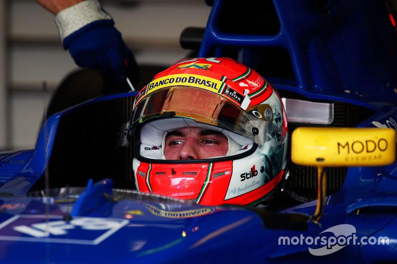 Italie 2016 - Felipe Nasr, Sauber