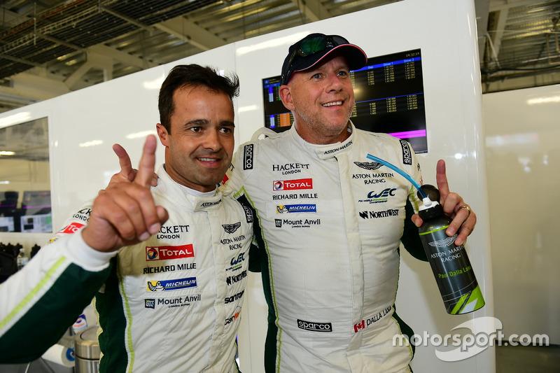 LM GTE Am pole: #98 Aston Martin Racing Aston Martin Vantage GTE: Paul Dalla Lana, Pedro Lamy, Mathias Lauda