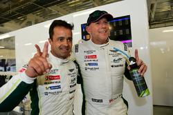 LM GTE Am polesitters #98 Aston Martin Racing Aston Martin Vantage GTE: Paul Dalla Lana, Pedro Lamy,