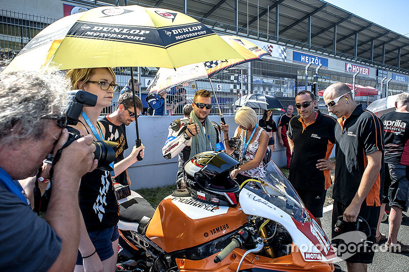 #119, Slider Endurance, Yamaha YZF R1: Vincent Houssin, Alexandre Perrault, Charles Diller