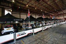 Service-Bereich von DMACK M-Sport Ford