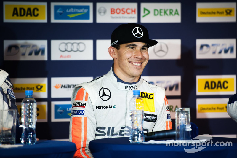 Conferenza stampa: Robert Wickens, Mercedes-AMG Team HWA, Mercedes-AMG C63 DTM