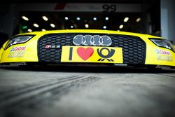 Hood of Mike Rockenfeller, Audi Sport Team Phoenix, Audi RS 5 DTM