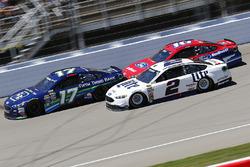 Ricky Stenhouse Jr., Roush Fenway Racing Ford, Brad Keselowski, Team Penske Ford, Greg Biffle, Roush