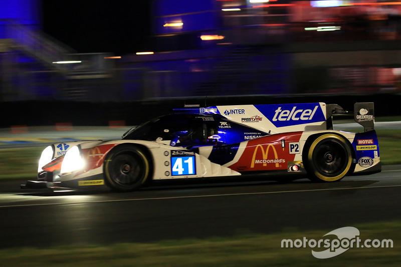 28: #41 Greaves Motorsport Ligier JSP2 Nissan: Memo Rojas, Julien Canal, Nathanael Berthon