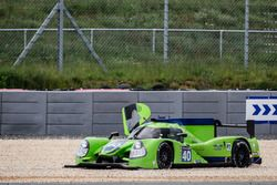 #40 Krohn Racing Ligier JS P2 Nissan: Tracy Krohn, Nic Jonsson, Joao Barbosa in the gravel trap