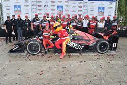 Le vainqueur Sébastien Bourdais, KV Racing Technology Chevrolet