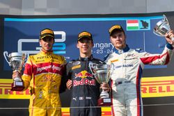Podium(top3):Pierre Gasly,Prema Powerteam;Antonio Giovinazzi,Prema Powerteam;Sergey Sirotkin,ART Gra