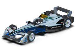 Formula E 2017, design ala anteriore