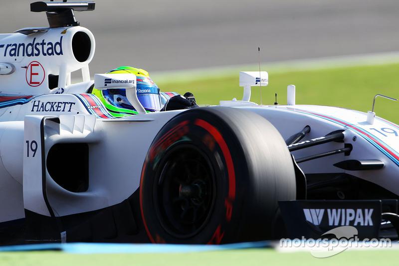 Felipe Massa, por sua vez, foi ao Q3 e parte em décimo. O piloto da Williams se disse bastante satisfeito com a volta que definiu a posição dele no grid.