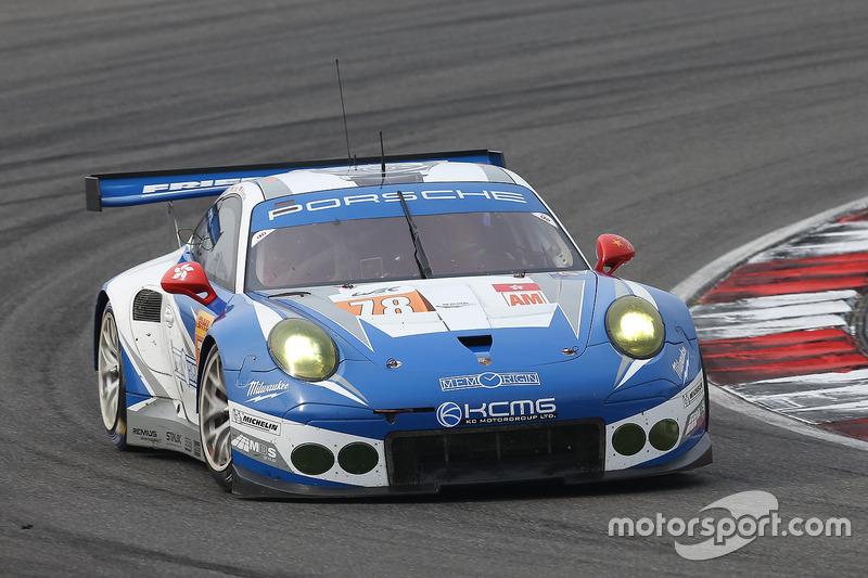 2. GTE-Am: #78 KCMG, Porsche 911 RSR: Christian Ried, Wolf Henzler, Joël Camathias