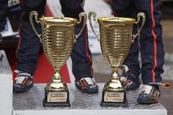 Trophies of Hayden Paddon, John Kennard, Hyundai i20 WRC, Hyundai Motorsport
