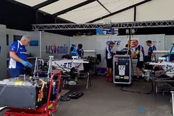 Pits de Amlin Andretti Formula E Team