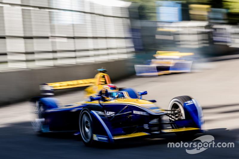 Com o segundo carro, Buemi deu continuidade à corrida e fez a volta mais rápida, conquistando os dois pontos que deram o título ao piloto suíço