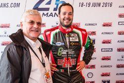 #43 RGR Sport by Morand Ligier JSP2 Nissan: Ricardo Gonzalez ve Jacques Nicolet