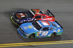 Aric Almirola, Biagi-DenBeste Racing, Ford; Justin Allgaier, JR Motorsports, Chevrolet