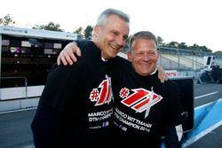 Jens Marquardt, directeur de BMW Motorsport, et Stefan Reinhold, BMW Team RMG