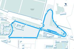 Marrakesh ePrix layout