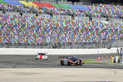 #9 MP1A Lamborghini Gallardo GT3 driven by Xandy Negrao of BRT, #88 MP1B Porsche GT3 Cup driven by B