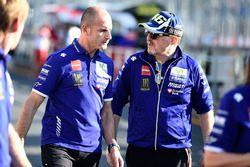 Massimo Meregalli, Direttore Yamaha Factory Racing Team, Silvano Galbusera, Yamaha Factory Racing