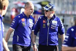 Massimo Meregalli, Yamaha Factory Racing Team Director, Silvano Galbusera, Yamaha Factory Racing