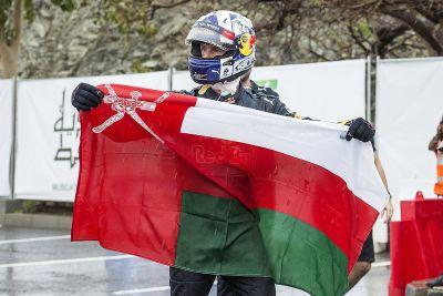 Red Bull: Showrun im Oman