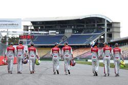 Timo Scheider, Mattias Ekström, Mike Rockenfeller, Miguel Molina, Edoardo Mortara, Adrien Tambay, Jamie Green, Nico Müller