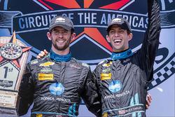 Podium: race winners #10 Wayne Taylor Racing Corvette DP: Ricky Taylor, Jordan Taylor