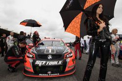 Grid girl of Garth Tander and Warren Luff, Holden Racing Team