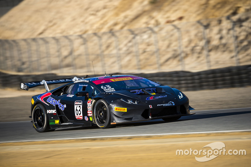 #63 DXDT Racing Lamborghini Huracan Super Trofeo: David Askew, James Burke