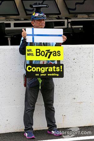 Fans Valtteri Bottas, Williams