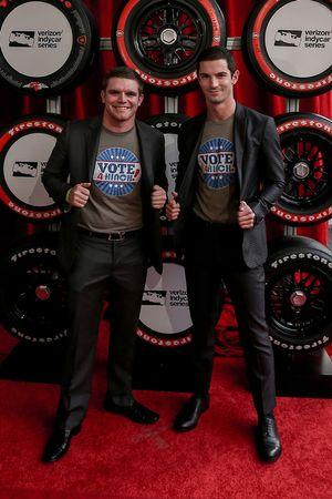 Conor Daly, Dale Coyne Racing Honda, Alexander Rossi, Herta - Andretti Autosport Honda