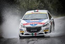 Giuseppe Testa e Daniele Mangiarotti, Peugeot 208 R2, Peugeot Sport Italia