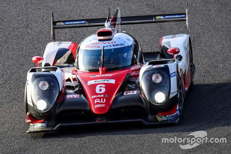 4. LMP1: #6 Toyota TS050: Stephane Sarrazin, Mike Conway, Kamui Kobayashi