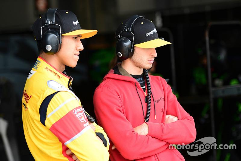 #30 Extreme Speed Motorsports Ligier JS P2 - Nissan: Antonio Giovinazzi, Sean Gelael
