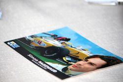 2006 card per autografi di Simon Pagenaud