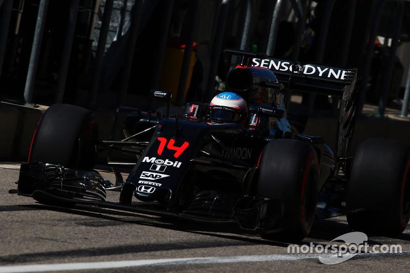 5e - Fernando Alonso (McLaren-Honda)