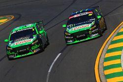 Mark Winterbottom, Prodrive Racing Australia Ford and Cameron Waters, Prodrive Racing Australia Ford