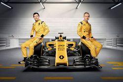 Kevin Magnussen, Renault Sport F1 Team ve Jolyon Palmer, Renault Sport F1 Team