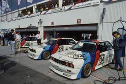 Altfrid Heger, BMW M3, und Dieter Quester, BMW M3
