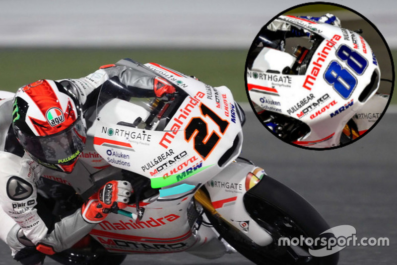 Detail, Aspar Team Mahindra