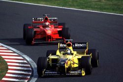 Damon Hill, Jordan, Michael Schumacher, Ferrari