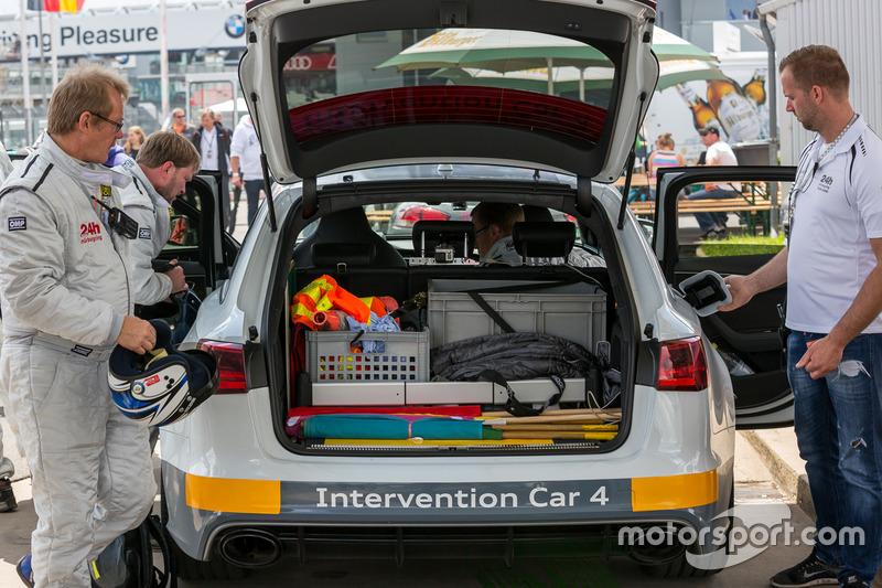 Audi Intervention Car