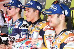 Jorge Lorenzo, Yamaha Factory Racing, Marc Márquez, Repsol Honda Team, Dani Pedrosa, Repsol Honda Te