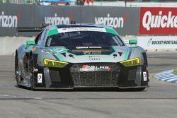 #44 Magnus Racing Audi R8 LMS : John Potter, Andy Lally