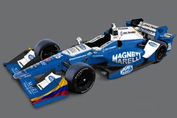 Nueva decoración Carlos Muñoz, Andretti Autosport Honda