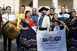 Drivers in Santiago, Argentina