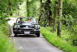 Herbert Pfeiffer und Rainer Ostermann, Chevrolet Corvette C1 Bj. 1958