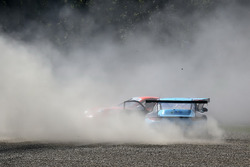 Incidente tra, Simone Iaquinta, Dinamic Motorsport, Daniele di Amato, Dinamic Motorsport, Tsunami RT - Padova
