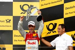 Podium: third place Miguel Molina Audi Sport Team Abt Sportsline, Audi RS 5 DTM with Hans-Jurgen Abt